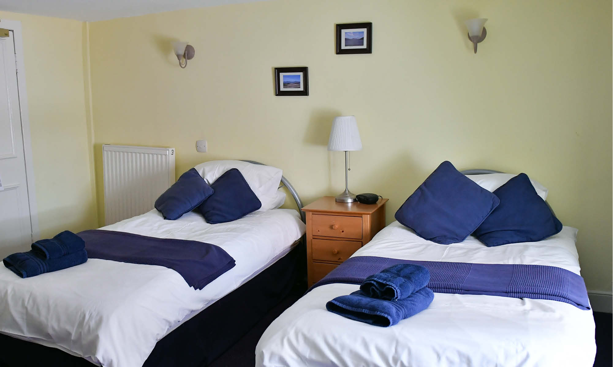 Room 6 single beds